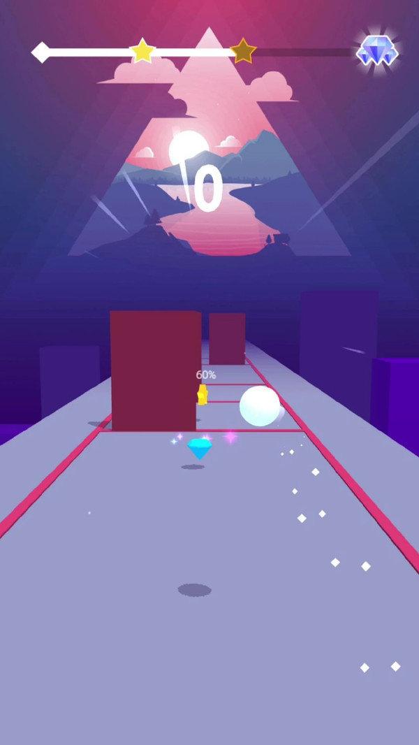 节奏球球3D图1