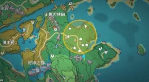 原神8.11秘寶迷蹤稻妻藏寶地位置-藏寶地11、藏寶地12在哪